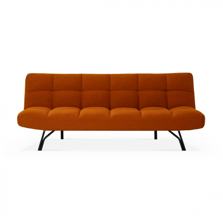 Rubis Sofa Bed In Orange Yellow Or